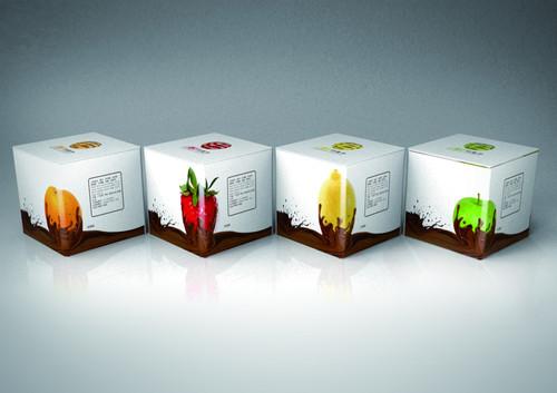 杯子包装展开图设计